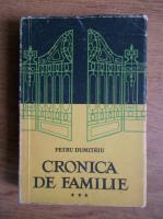 Petru Dumitriu - Cronica de familie (volumul 3)