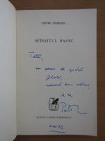Petru Popescu - Sfarsitul bahic (cu autograful autorului)