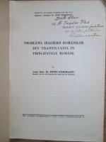 Anticariat: Petru Ramneantu - Problema iradierii romanilor din Transilvania in Principatele Romane (cu autograful autorului)