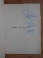 Anticariat: Petru Stati - Talaz spre veac nou. Poeme (1940, cu autograful autorului)