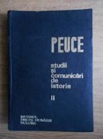 Anticariat: Peuce. Studii si comunicari de istorie (1971, volumul 2)