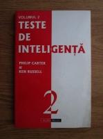Anticariat: Philip Carter, Ken Russell - Teste de inteligenta (volumul 2)