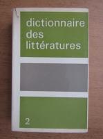 Anticariat: Philippe van Tieghem - Dictionnaire des litteratures (volumul 2)