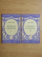 Anticariat: Pierre de Ronsard - Poesies choisies (2 volume, 1933)