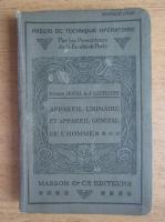 Anticariat: Pierre Duval - Chirurgie de l'appareil urinaire et de l'appareil genital de l'homme (1924)