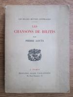 Pierre Louys - Les chansons de bilitis