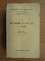 Pierre Muret - La preponderance Anglaise, 1715-1763 (1937)