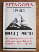 Pitagora - Legile morale si politice