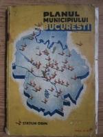 Planul municipiului Bucuresti