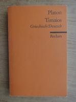 Platon - Timaios