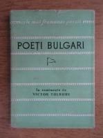 Anticariat: Poeti bulgari clasici si contemporani