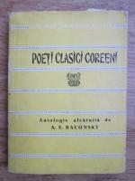 Anticariat: Poeti clasici coreeni (Colectia Cele mai frumoase poezii)
