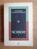 Pompiliu Constantinescu - Scrieri (volumul 3)
