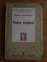 Pompiliu Constantinescu - Tudor Arghezi