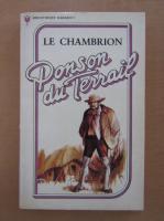 Ponson du Terrail - Le Chambrion