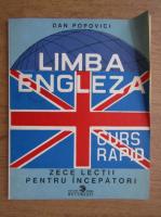 Anticariat: Popovici Dan - Limba engleza pentru incepatori. Curs rapid