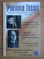 Anticariat: Porunca iubirii. Revista ortodoxa de misiune si informare, nr. 1, 2008