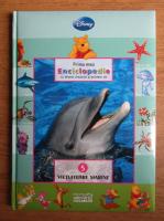 Anticariat: Prima mea enciclipedie cu Winnie Ursuletul si prietenii sai. Vietuitoare marine (volumul 5)