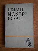 Anticariat: Primii nostri poeti