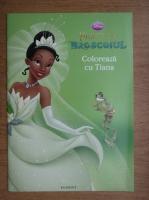 Anticariat: Printesa si broscoiul, coloreaza cu Tiana