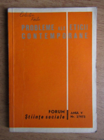Anticariat: Probleme ale eticii contemporane, anul V, nr. 2, 1973
