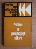 Probleme de psihopatologie militara