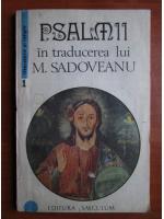 Psalmii in traducerea lui M. Sadoveanu