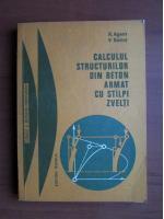 R. Agent - Calculul structurilor din beton armat cu stalpi zvelti