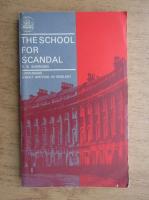 Anticariat: R. B. Sheridan - The School for Scandal