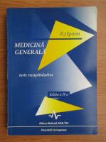 R. J. Epstein - Medicina generala. Note recapitulative