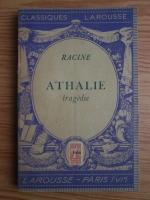 Anticariat: Racine - Athalie (1933)
