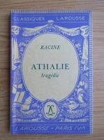 Anticariat: Racine - Athalie, tragedie (1936)