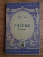 Anticariat: Racine - Phedre. Tragedie (1933)