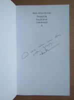 Anticariat: Radu Anton Roman - Povestile bucatariei romanesti, volumul 1. Dobrogea si Campia Romana (cu autografu autorului)