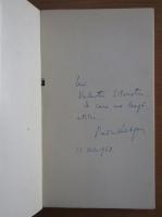 Radu Beligan - Pretexte si subtexte (cu autograful autorului)