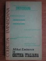 Anticariat: Radu Boureanu - Mihai Eminescu in critica italiana
