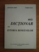 Radu Homer, Georgeta Smeu - Mic dictionar de istoria romanilor