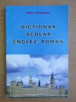 Anticariat: Radu Lupuleasa - Dictionar scolar englez-roman