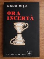 Anticariat: Radu Nitu - Ora incerta