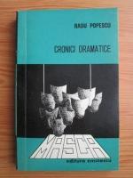 Radu Popescu - Cronici dramatice