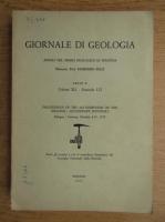 Raimondo Selli - Giornale di geologia. Annali del museo geologico di Bologna