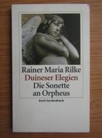 Rainer Maria Rilke - Duineser elegien die sonette an Orpheus