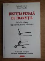Anticariat: Raluca Grosescu - Justitia penala de tranzitie