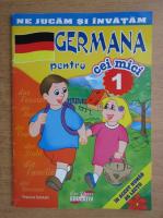Raluca Sadula - Germana pentru cei mici (volumul 1)