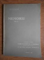 Anticariat: Razvan Givulescu - Memorii. Flora pliocena de la Chiuzbaia cu un studiu geologic introductiv (volumul 10)
