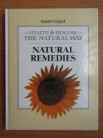 Anticariat: Reader's Digest natural remedies