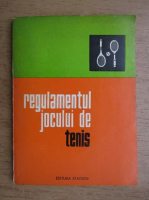 Anticariat: Regulamentul jocului de tenis