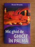 Anticariat: Rene Brunin - Mic ghid de citit in palma