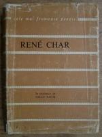 Rene Char - Poeme alese