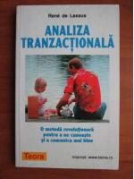 Anticariat: Rene de Lassus - Analiza tranzactionala